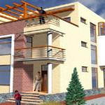 proiect casa la calcan 1