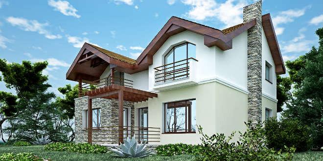Proiect casa parter si etaj for Proiecte case cu etaj si terasa